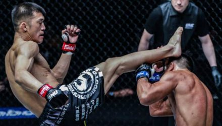 Shoko Sato Stops Mark Abelardo at ONE Warriors of Light
