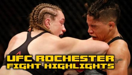 UFC Rochester prelim fight highlights