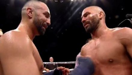 Paulie Malignaggi and Artem Lobov post BKFC 6