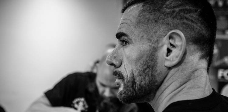 Rafael Lovato Jr Bellator London backstage