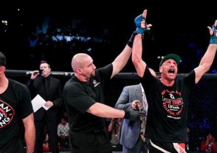 Rafael Lovato takes the win over Gegard Mousasi