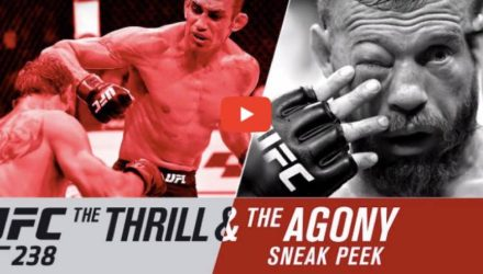 UFC 238 thrill and agony