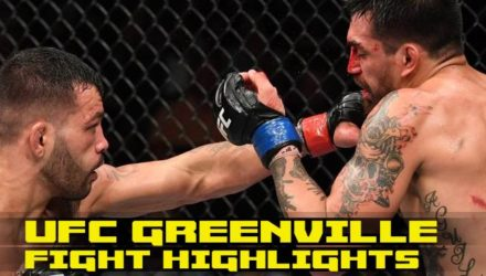 UFC Greenville prelim fight highlights