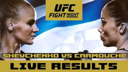 UFC on ESPN plus 14 - shevchenko vs carmouche live results