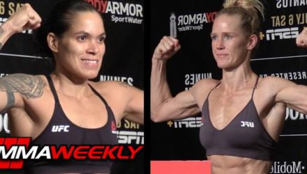 Amanda Nunes vs Holly Holm UFC 239 weigh-in