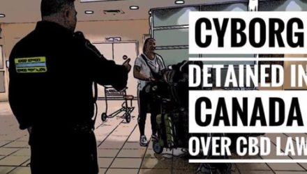 Cyborg detained in Canada