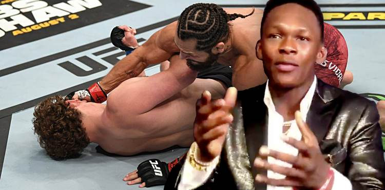 Israel Adesanya - Jorge Masvidal knocks out Ben Askren at UFC 239
