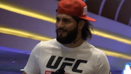 Jorge Masvidal UFC 239 open workout