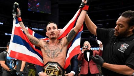 Max Holloway UFC 240 victory