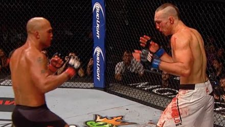 Robbie Lawler vs Rory MacDonald bloody fight