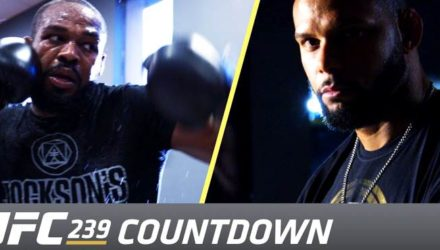 UFC 239 Countdown Jones vs Santos