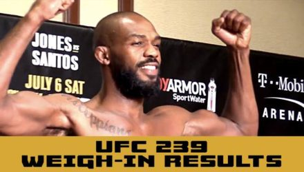 UFC 239 weigh-in results - Jon Jones