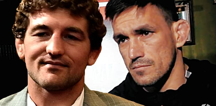 Ben Askren and Demian Maia