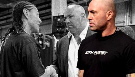 Joe Rogan on Cris Cyborg confronts Dana White