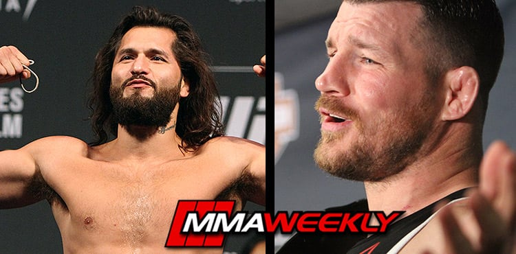 Jorge Masvidal and Michael Bisping