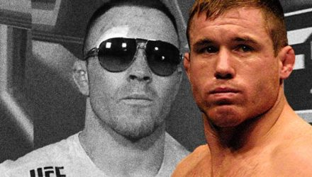 Matt Hughes over Colby Covington