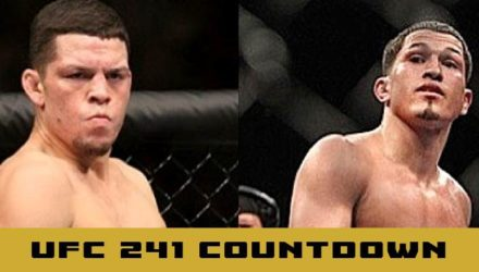 UFC 241 Nate Diaz vs Anthony Pettis countdown