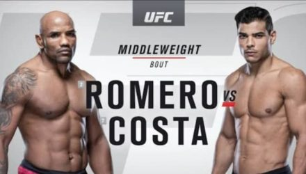UFC 241 Romero vs Costa recap