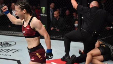 Weili Zhang defeats Jessica Andrade at UFC Shenzhen