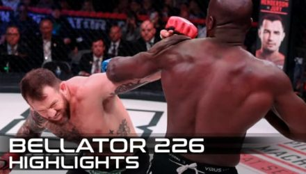 Bellator 226 Bader vs Kongo Fight Highlights