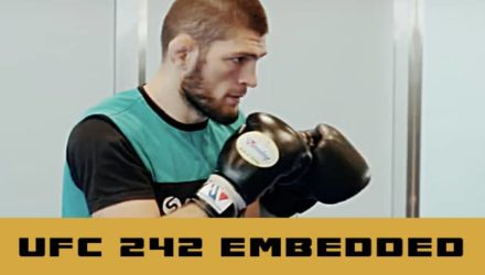 UFC 242 embedded episode 3 - Khabib boxing