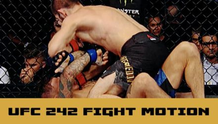UFC 242 fight motion