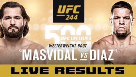 UFC 244 Masvidal vs Diaz live results