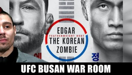 UFC Busan Edgar vs Korean Zombie War Room
