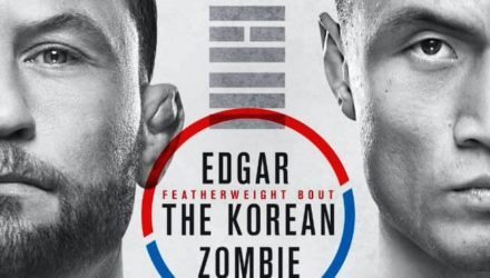UFC Busan Edgar vs Korean Zombie poster
