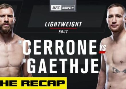 UFC Vancouver Cowboy vs Gaethje recap video