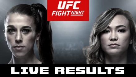 UFC on ESPN+ 19 Joanna vs Waterson live results