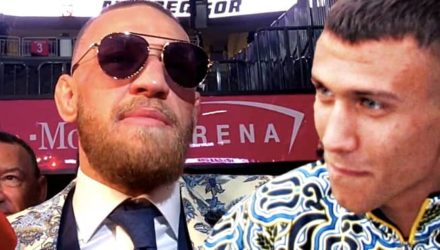 Conor McGregor and Vasyl Lomachenko