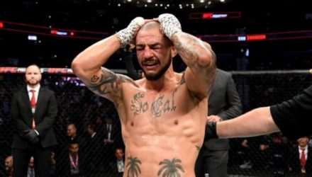 Cub Swanson emotional at UFC on ESPN+ 19