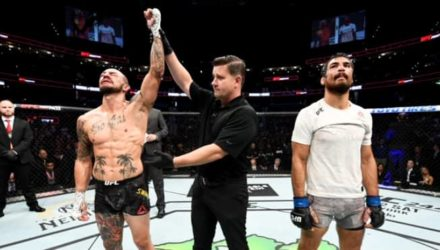 Cub Swanson victorious at UFC on ESPN+ 19