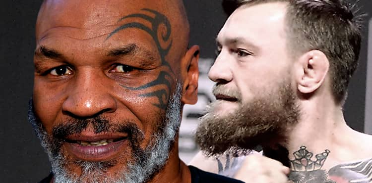 Mike Tyson and Conor McGregor v2