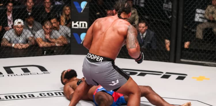 Ray Cooper wins at PFL 2019 playoffs