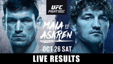 UFC on ESPN+ 20 Maia vs Askren live results