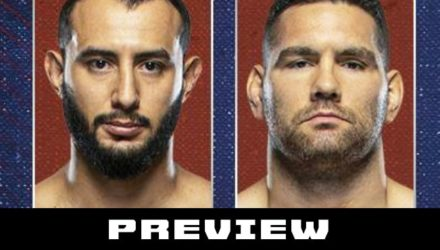 UFC on ESPN 6 Reyes vs Weidman preview