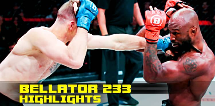 Bellator 233 Fight Highlights