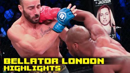 Bellator London MVP Fight Highlights