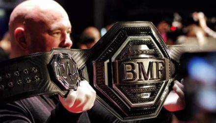 Dana White unveils BMF belt for UFC 244