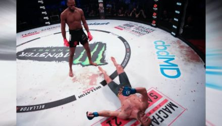 Michael Venom Page Bellator London knockout