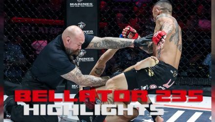 Bellator 235 fight highlights