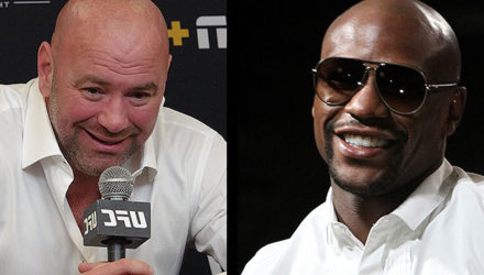 Dana White and Floyd Mayweather - UFC 245 comments