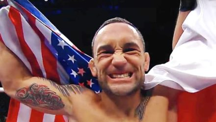 Frankie Edgar - UFC with US Flag