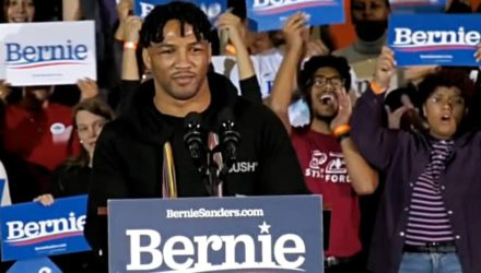 Kevin Lee speaking for Bernie Sanders