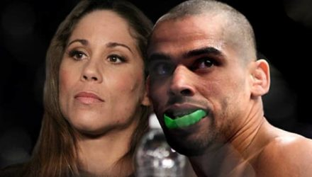 Liz Carmouche and Renan Barao