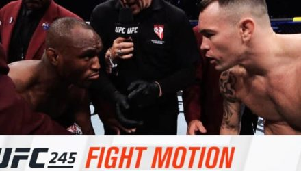 UFC 245 Fight Motion