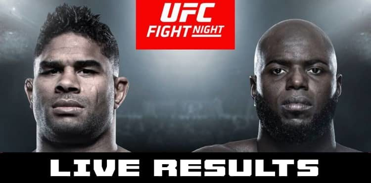 Ufc On Espn 7 Live Results Overeem Vs Rozenstruik Results