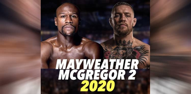 Floyd Mayweather vs Conor McGregor 2 poster